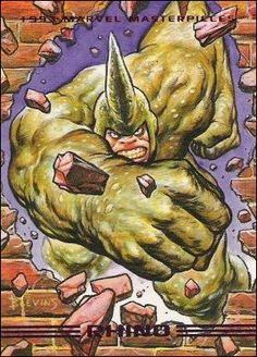 Rhino - 1993 Marvel Masterpieces Series