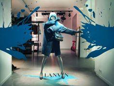 Escaparate de Lanvin en París para colección otoño-invierno 2012