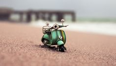 Standing on a Shore: Vespa in Albufeira, Portugal -Travelling Cars Adventures - Kim Leuenberger