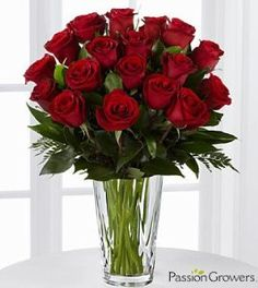 FTD Flowers Passion Romance - 18 Stems: Wedding anniversary gifts