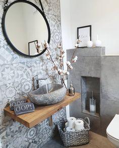 Mit einem lieben Gruß aus unserem Gäste WC wünsche ich Euch einen schönen verble Das Badezimmer wird immer moderner wohnlicher und ersetzt auch schon mal den Spa-Besuch. Wir zeigen Ihnen Ideen für Einrichtung und Deko moderne Badmöbel und geben Tipps rund Badezimmer Umbau, Badezimmer Einrichtung, Wohnung Badezimmer Dekoration, Kleine Badezimmer, Badezimmer Innenausstattung, Badezimmer Design, Waschraum, Gäste Wc Modern, Moderne Badezimmermöbel