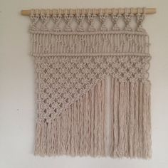 Hey, I found this really awesome Etsy listing at https://www.etsy.com/listing/213759719/layered-macrame-wall-hanging
