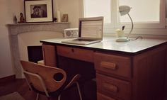 My new desk Corner Desk, Furniture, Home Decor, Corner Table, Decoration Home, Room Decor, Home Furnishings, Home Interior Design, Home Decoration