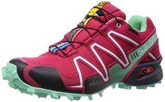 Salomon Speedcross 3 GTX, Damen Traillaufschuhe, Rot (Lotus Pink/Lucite Green/Black), 40 2/3 EU (7 Damen UK) - http://on-line-kaufen.de/salomon/40-2-3-eu-salomon-speedcross-3-gtx-damen-8