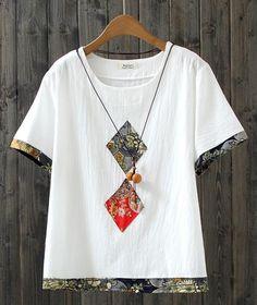Sewing Clothes, Diy Clothes, Stylish Dresses, Fashion Dresses, Shirt Makeover, Batik Fashion, Diy Couture, Shirt Bluse, Batik Dress