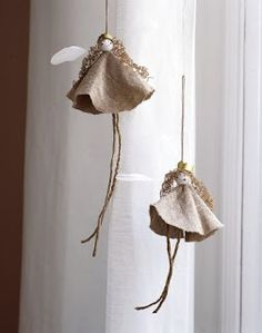 Modern Country: Christmas ornaments to make