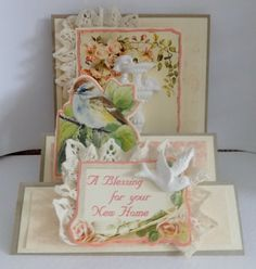 If you need any help with your Card Making please post a comment, and I will get back to you as soon as I can. Personalised Cards, Handmade Cards, A Blessing, Your Cards, Decorative Boxes, Card Making, Paper, Frame, Art