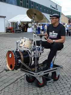 Traveling Drum Kit