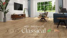 Natural Flooring, Oak Flooring, Engineered Hardwood Flooring, Floors, Coast Looks, Canadian Maple, French Oak, Wide Plank