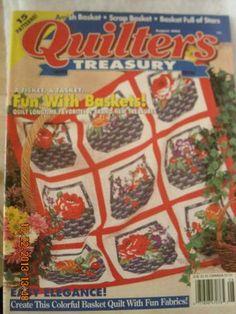 Quilter's Treasury Magazine August 1994
