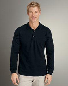 5eb0867b0 G340 6.5 Oz. Ultra Cotton Pique Long-Sleeve Polo  Buy  Fashion Now  Men  s   Long  Sleeve Polo tshirt  at just  11.34