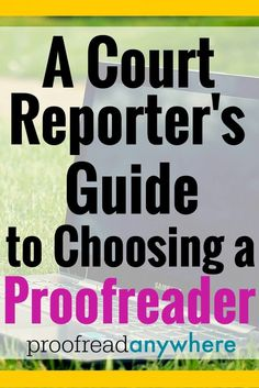Court Reporting university guide