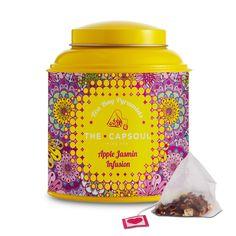 Apple and Jasmine Infusion Pyramid – The Capsoul Coffee & Tea