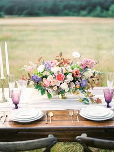 Romantic Oregon wine country wedding inspiration - 100 Layer Cake