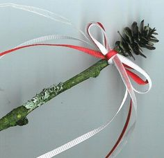 A Priapic Wand; for celebrating Imbolc.Fun craft for Andi ;)
