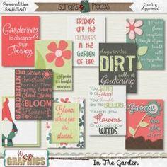 In The Garden Journal Cards