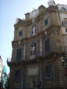 Quatro Canti - Palermo, Sicily   Flickr - Photo Sharing!