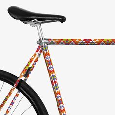 Fahrradfolie - Inka von MOOXIBIKE Selbstklebende Folie für Fahrräder mit einem Rahmenumfang bis 10 cm. Folienlänge frei einteilbar. Steinschlag- und UV-Schutz.