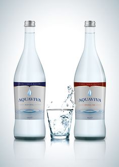 Packaging of the World: Creative Package Design Archive and Gallery: Aquaviva Pure Table Water