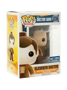 Eleventh Doctor (Fez) is given a fun, and funky, stylized look as an adorable collectible vinyl figure!Hot Topic exclusive!
