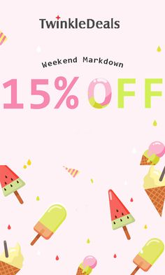 Twinkle Deals Weekend Markdown: Get up to 15% discount on selected items. Order now and avail this offer. For more Twinkle Deals Coupon Codes visit: http://www.couponcutcode.com/stores/twinkledeals/