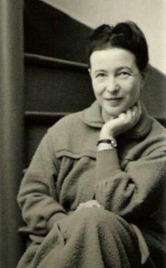 Simone de Beauvoir - Philosophe et écrivaine française - 1908-1986