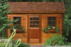 Garden shed kit~http://www.summerwood.com/products/sheds/index.html