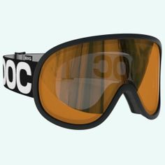 POC Retina BIG goggles ski snowboarding Uranium Black w/red mirror lens