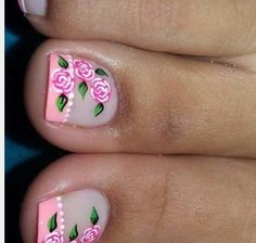 Mio Pedicure Nail Art, Toe Nail Art, Love Nails, My Nails, Cute Pedicures, Painted Toes, Leopard Nails, Glam Nails, Toe Nail Designs