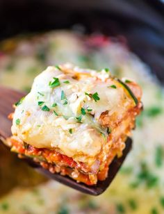 Crock Pot Low Carb Lasagna - Easy, Cheesy & your crock does all the work! Crock Pot Low Carb Lasagna - Easy, Cheesy & your crock does all the work! Crock Pot Recipes, Slow Cooker Recipes, Low Carb Recipes, Vegetarian Recipes, Cooking Recipes, Healthy Recipes, Diet Recipes, Lasagna Recipes, Vegan Vegetarian