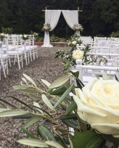 Ceremony by the pond in the Lemons Garden. Set up by Italian Wedding Designer with Ciabatti Ricevimenti