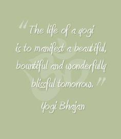 Yogi Bhajan- kundalini Yoga