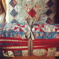 French General Quilt and Pillow