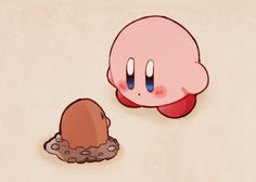 """"""" This is an extremely random crossover. Kirby Character, Game Character, Kirby Games, Videogames, Otaku, Nintendo Characters, Cute Pokemon, Kawaii Cute, Animation"""