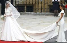 Kate & Pippa Middleton at the royal wedding