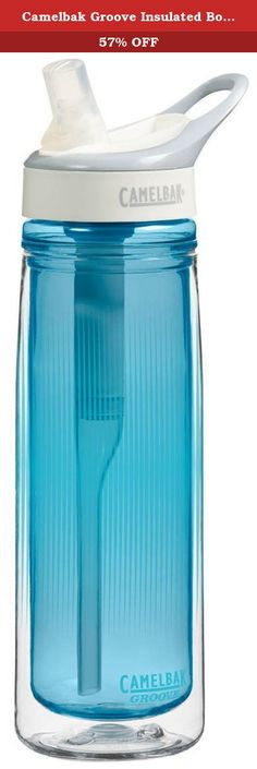 6b167284b6 Enjoy freshly filtered water anywhere with the CamelBak Groove Insulated Water  Bottle. The sustainable, plant-based filter lasts up to 3 months while the  ...