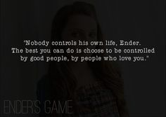 - Ender's Game by Orson Scott Card