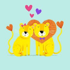 cally jane studio-lion heart