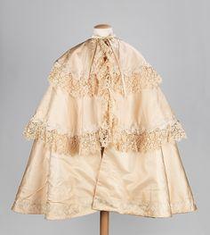 Cape-This christening cape is exquisite.
