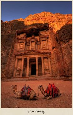 The lost city of Petra, remains of an ancient, rich civilization that was the centerpiece of 'Indiana Jones and the Last Crusade' is clearly a destination to be explored at least once in this lifetime! #Egypt