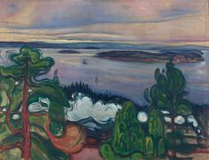 Edvard Munch Poster - Train Smoke                                                                                                                                                                                 Mehr