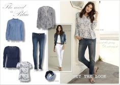 soyaconcept, spring fashion, the mood is blue, jeans, shirt, t-shirt, scarf, cardigan