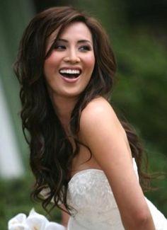 Anyone wear their long hair down and straight? - Weddingbee