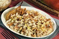 Risotto con pere e noci - La ricetta di Buonissimo