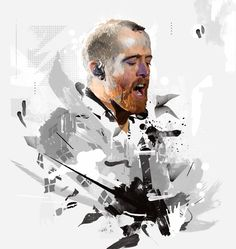 Linkin Park / Grunge in Motion by Vincent Rhafael Aseo, via Behance