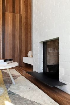 Melbourne based architecture and interior design practice. Fireplace Beam, Cozy Fireplace, Fireplace Remodel, Modern Fireplace, Fireplaces, Residential Architecture, Interior Architecture, Clare Cousins, Best Interior