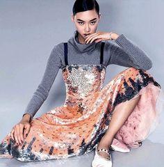 Jessie Li Wang wearing Valentino Fall 2016.17 look for LA magazine. • • • • • #instalike #valentino #magazine #pretty #cute #beautiful #love #colorful #blog #blogger #follow #followme #instagood #instamood #fashionblog #hot #amazing #beauty #fashionblog #likeforlike #followforfollow #f4f #couture #hautecouture #glamour #chic #style #trend #fashion #instafashion #valentinoeditorials