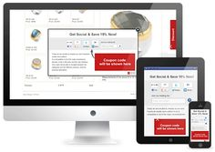 A plugin that increases your fan base and email lists by popping up special offers and discounts to your visitors.