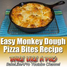 Easy Monkey Dough Pizza Bites Recipe BakeLikeAPro