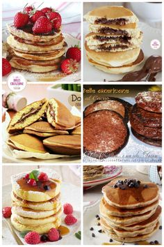 PANCAKES: 11 RICETTE IRRESISTIBILI e da non perdere, per tutti i gusti! Una ricca raccolta di #ricette, che vanno da quella base per preparare i #pancake classici, a quelli integrali, o #senzaburro, #senzaglutine, senza latticini, allo #yogurt, alle fragole, alla banana, ripiene alla #nutella. #dolci #ricetta #recipe #gialloblog #colazione #breakfast #brunch #food #foodie #frittelle Foodie, Christmas Desserts, Healthy Desserts, Nutella, Yogurt, Pancakes, Brunch, Breakfast, Christmas Deserts